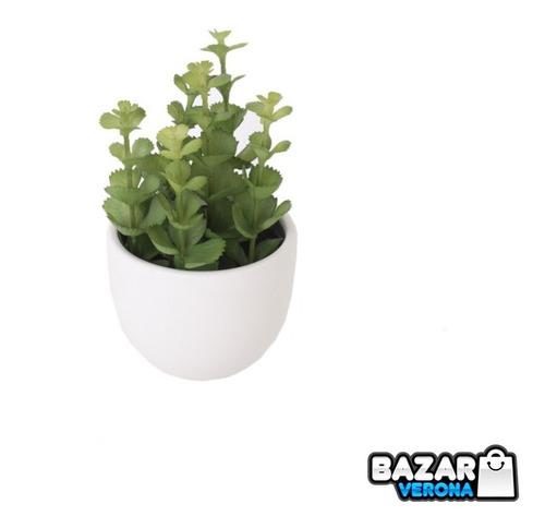 Maceta Planta Suculenta Artificial Decoración Numero 13