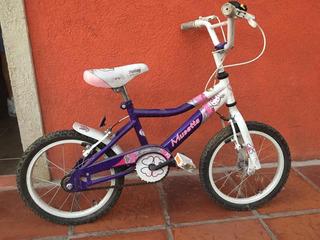 Bicicleta Nena Rodado 16. Musetta Kitty