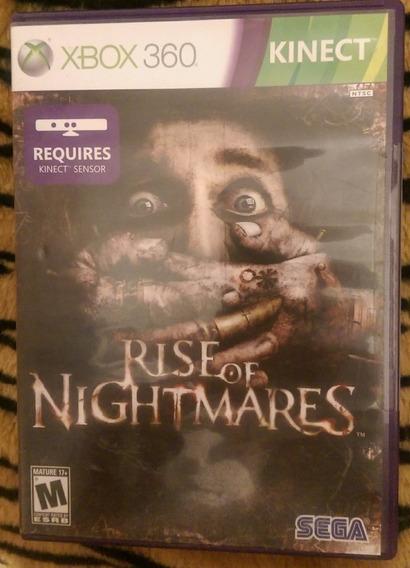 Rise Of Nightmares Kinect Xbox 360 Original Mídia Física