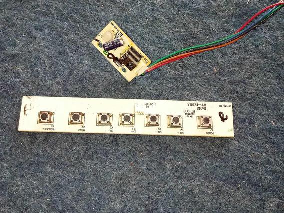 Teclado + Sensor Tv Cce Stille D37