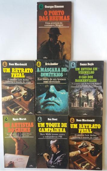 Conan Doyle Série Mistério E Suspense Antigo Raro 7 Livros