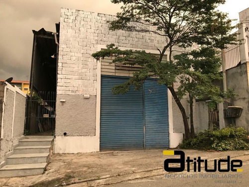 Imagem 1 de 15 de Galpão Industrial Para Locação Ou Venda Em Barueri. - 4441