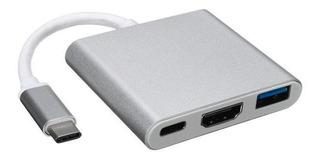 Adaptador Usb 3.1 Tipo C Usb 3.0 Hdmi Macbook