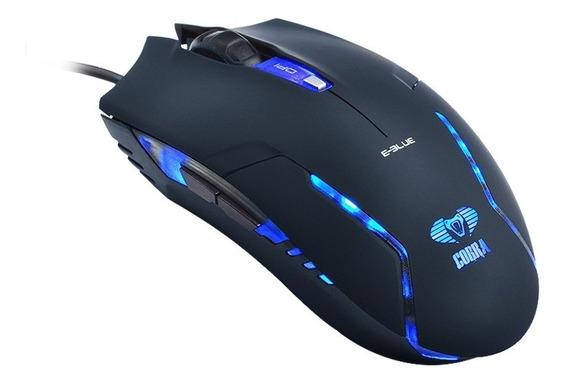 Mouse Gamer Com Iluminação E-blue Ems151