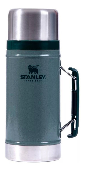 Termo Acero Inoxidable Stanley 1 Lts Clasico Alimentos