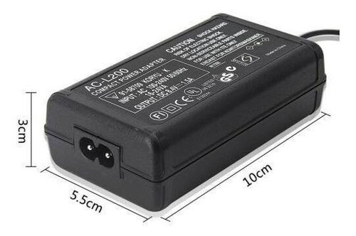 Cargador adaptador de corriente alterna para SONY HandyCam DCR-DVD108 DCR-DVD308 DCR-DVD608 DCR-DVD708