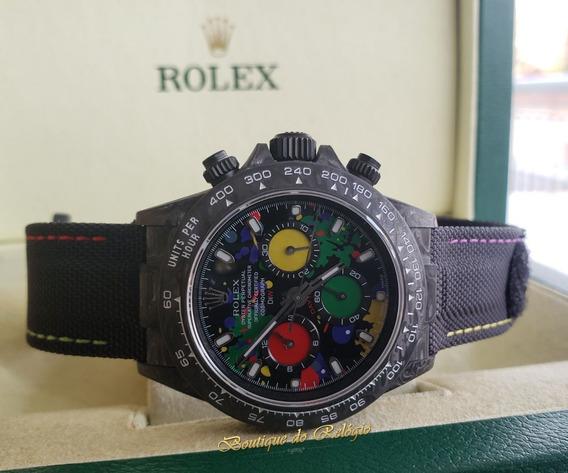 Relógio Modelo Eta - Daytona Diw Motley Carbon - Exclusivo