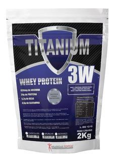 Whey Protein 3w 2kg Proten Wey 2kg Isolado Hidrolisado