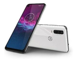 Celular Motorola Moto One Action Xt1023 128gb Branco Polar