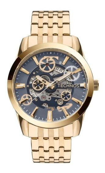 Relógio Technos Masculino Automático 8205nq/4a