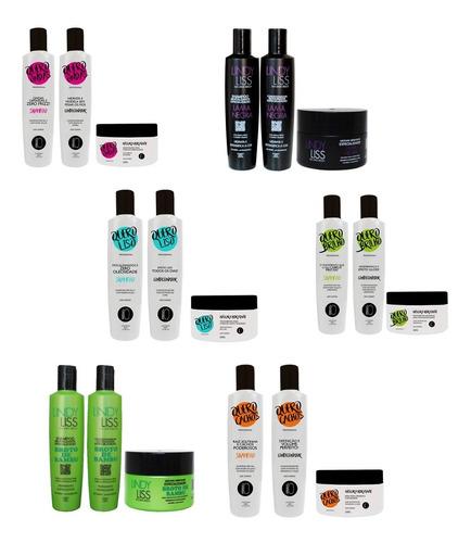 Imagem 1 de 9 de Shampoo + Condicionador + Máscara = 54 Produtos = Atacado