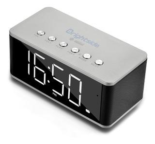 Parlante Radio Reloj Brightside Despertador - Alta Calidad