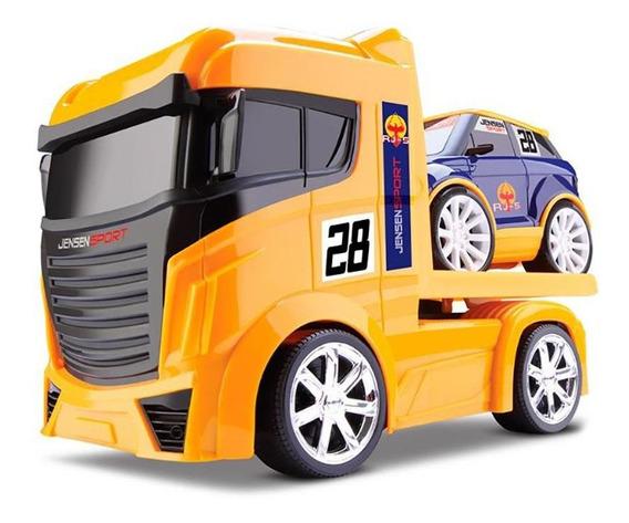 Caminhão Guincho - Next Race - Amarelo - Roma Jensen