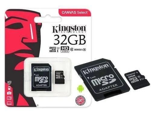 Cartão De Memoria Classe 10 32gb Kingston + Nota Fiscal