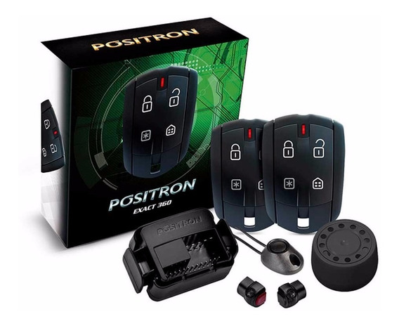 Alarme De Carro Pósitron Ex360 Exact Universal Automotivo