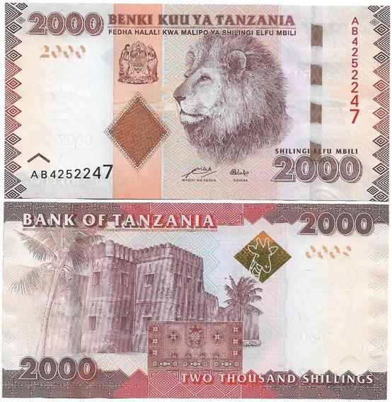 Tanzânia 2.000 Shillingi 2010 Fe P-42