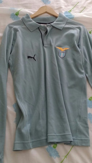 Camisa Lazio Importada Manga Longa
