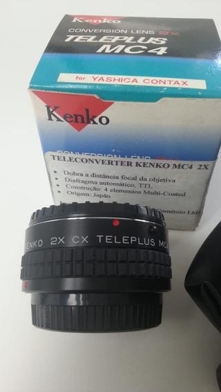 Tele Converter 2x Para Câmera Yashica E Contax Analogica