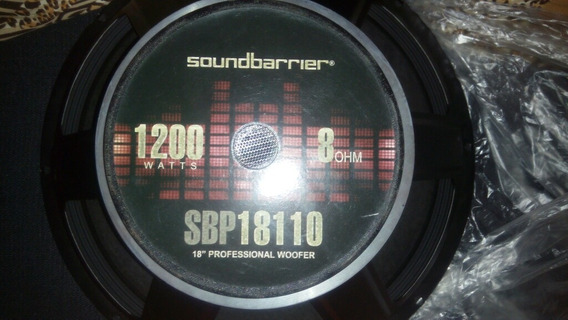 Bajo Soundbarrier Sbp18110 18 1200 Watts