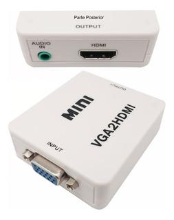 Conversor De Video Vga + Audio A Hdmi Nm-hd2