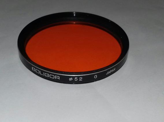 Filtro 52 M M. ( Soligor ), Para Câmera Fotográfica