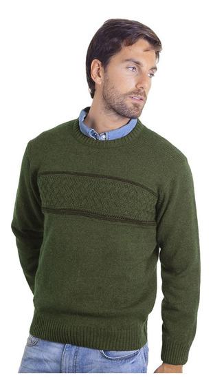 Sweater Cuello Redondo Cardado Guarda Mauro Sergio !