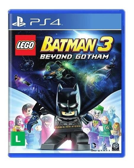 Batman 3 Beyond Gotham Lego Ps4 Novo Midia Fisica