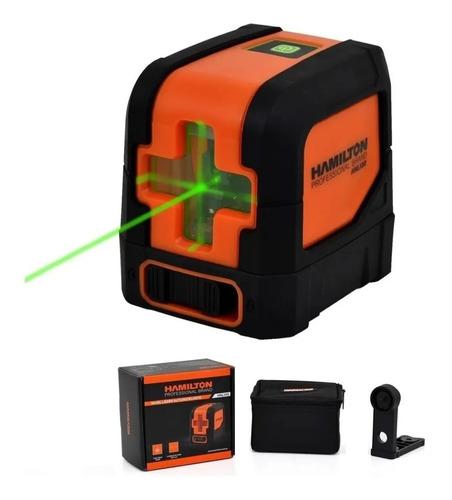 Nivel Laser Hamilton Hnl100 C/ Soporte 30 Mts + Bolso Cuotas