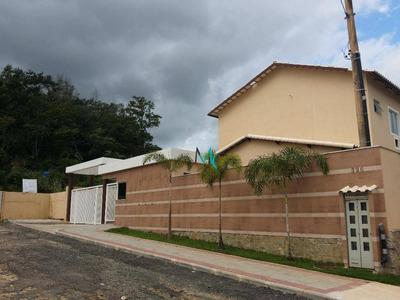 Belíssimas Casas Duplex, 1º Locação, Vaga De Garagem Para 2 Carros, No Rio Da Prata De Campo Grande - Ca0072