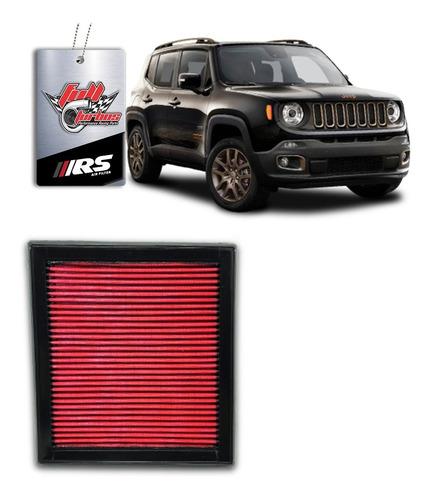 Filtro De Ar Esportivo Inbox Jeep Renegade 2.0 Diesel Rs2978