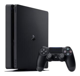 Consola Ps4 Slim Negro 500 + Spider Man Fisico Envio Gratis