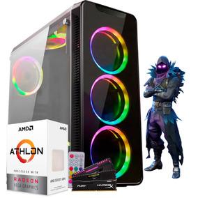 Pc Gamer Amd Athlon 200ge Hd 1tb Gabinete Infinity 4 6 Fans