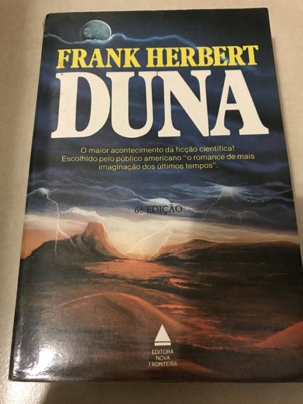 Livri Duna De Frank Hebert (ed Antiga E Rara/ótimo Estado)