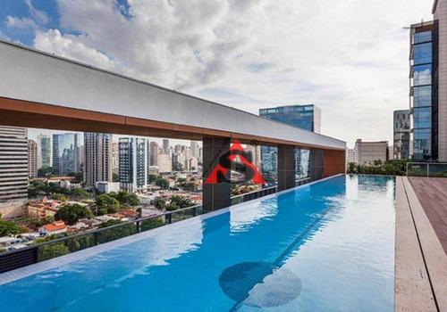 Apartamento Para Alugar, 62 M² Por R$ 6.400,00/mês - Vila Olímpia - São Paulo/sp - Ap43240