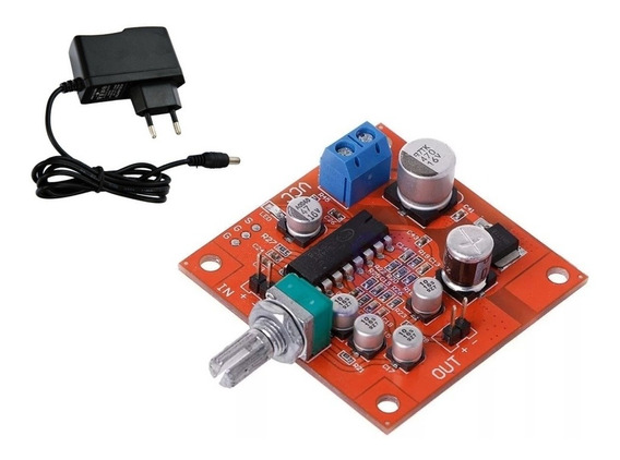 Placa Efeito Reverb Para Sistemas De Voz,instrumentos.+fonte