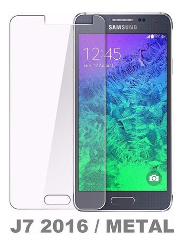 Pelicula De Vidro Temperado Glass Galaxy J7 2016 J710 Metal