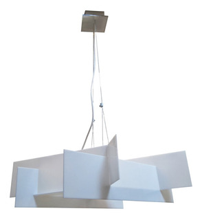 Lampara Moderna Colgante Led 20 Watts Decorativa Minimalista