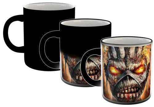 Taza Magica Iron Maiden Hard Rock Heavy Metal Musica M8
