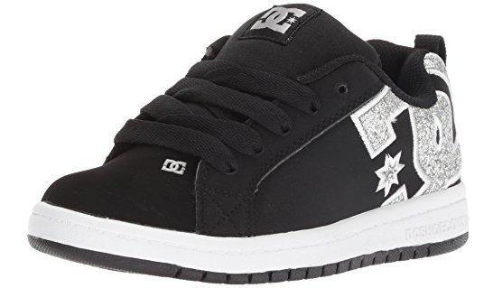 Niños Dc Corte Juvenil Graffik Patin Zapatos