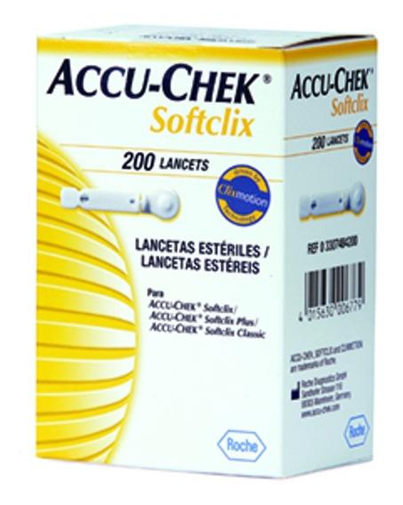 Lancetas Accu-chek Softclix 200 Tiras