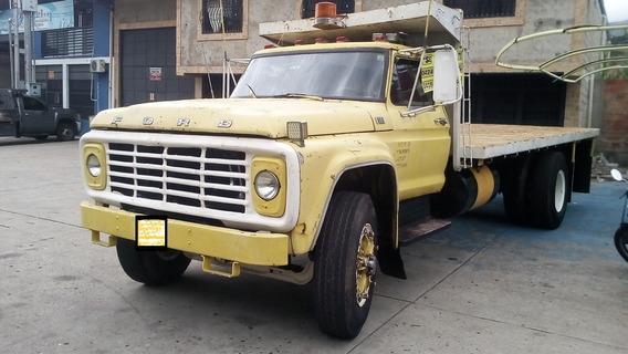 Camion Ford 600 Plataforma