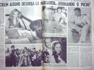 Graciela Alfano Frank Sinatra Notas Radiolandia Año 1980