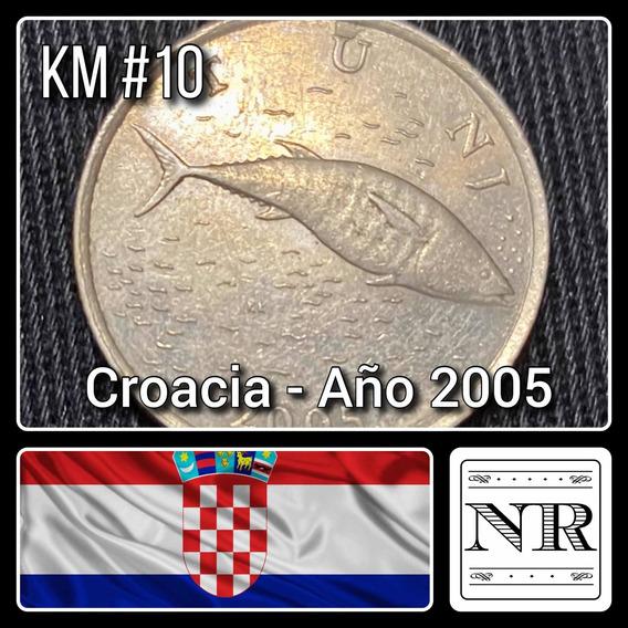 Croacia - 2 Kune - 2005 - Km # 10 - Pez Atun