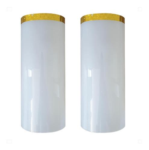 Imagen 1 de 1 de Acrílicos O Pantallas Para Cirial Color Blanco