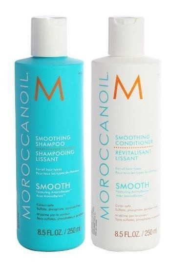 Kit Moroccanoil Smooth Shampoo X250 + Acondicionador X250