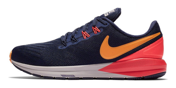 Tênis Nike Air Zoom Structure 22 Pisada Pronada