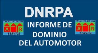 Informe De Dominio Dnrpa