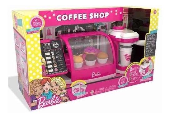 Barbie - Cafeteira Fabulosa - Fun