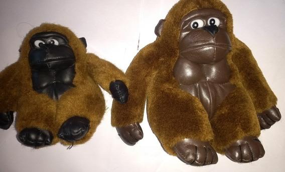Macacos Antigos De Pelúcia Lote