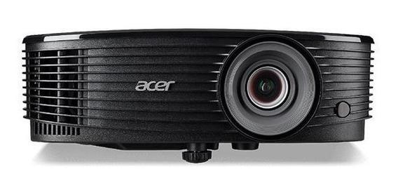 Projetor Acer 3600 Lumens Eventos Preto Bivolt Ps4 Xbox Novo